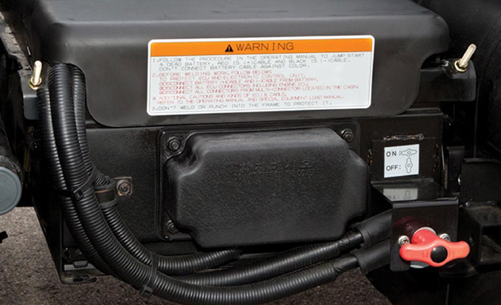 bình điện xe ben daewoo loại 12 volt