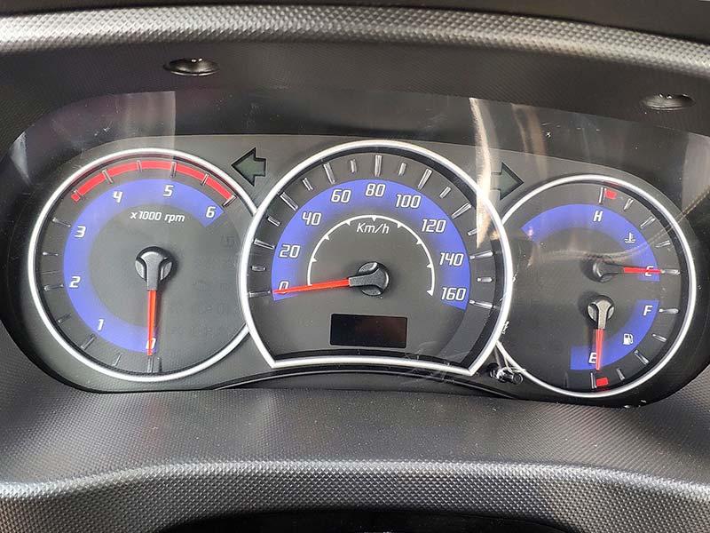 bảng đồng hồ thông số xe teraco 150