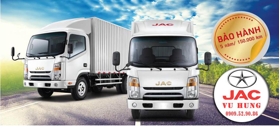 chế độ bảo hành xe tải jac n200