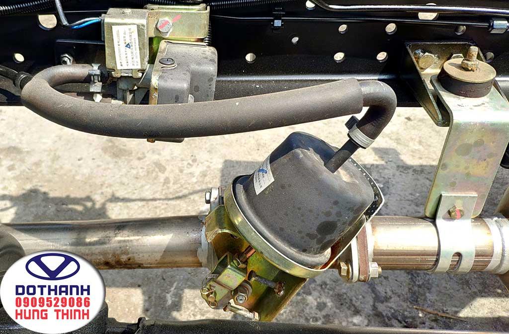 bộ xử lý khí thải xe tải iz68 3t5