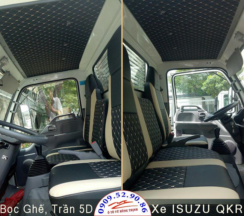 bọc ghế và opps trần xe tải isuzu