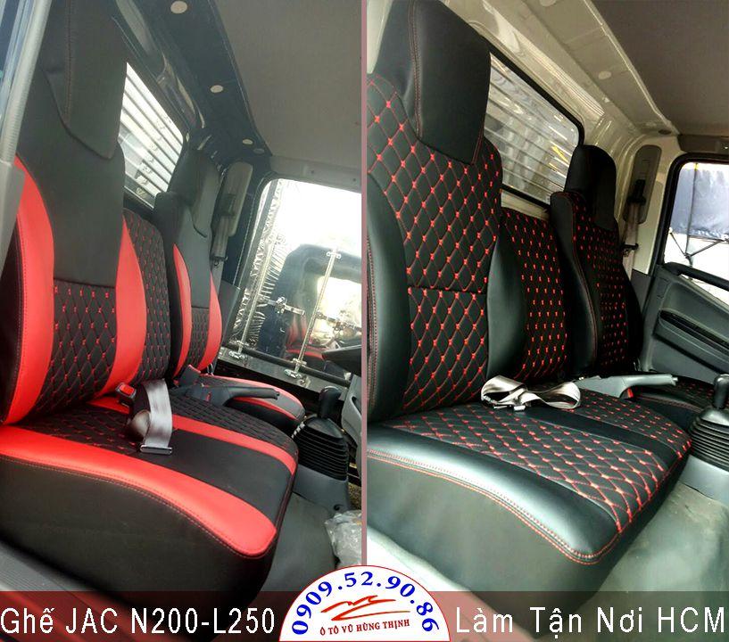 bọc ghế xe tải JAC N200, L250