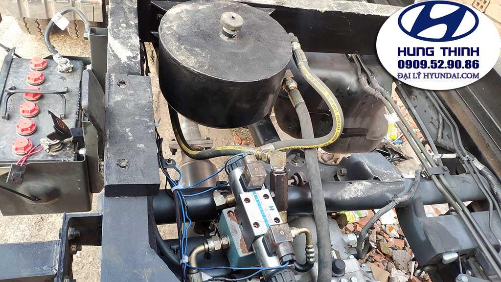 hệ thống bơm ben xe hyndai h150