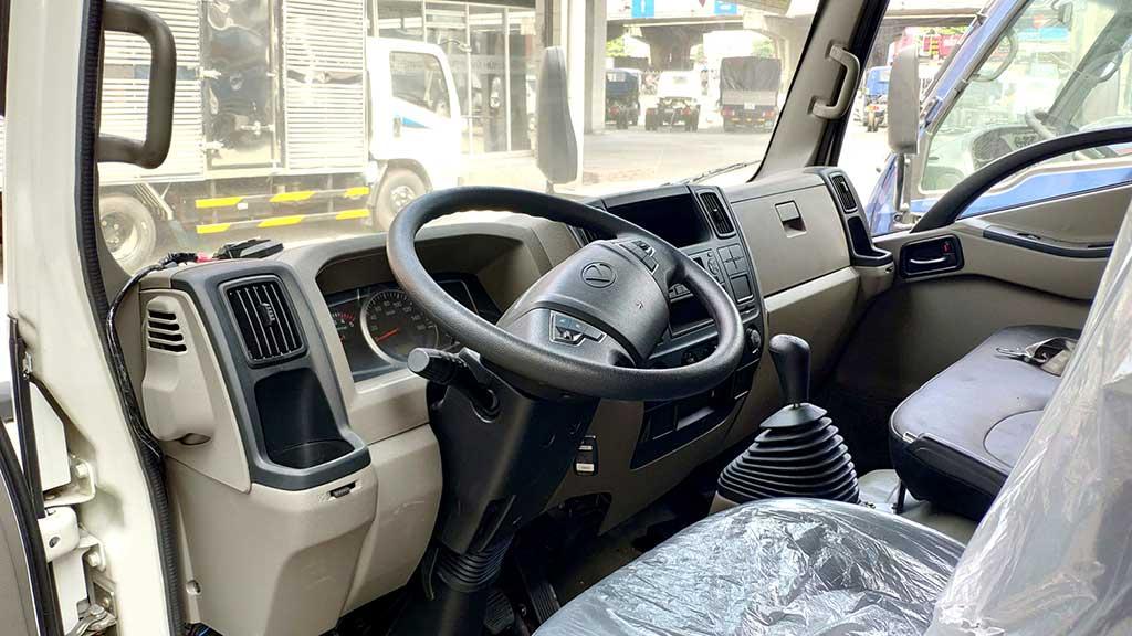 nội thất cabin xe iz65se thùng dài 5 mét