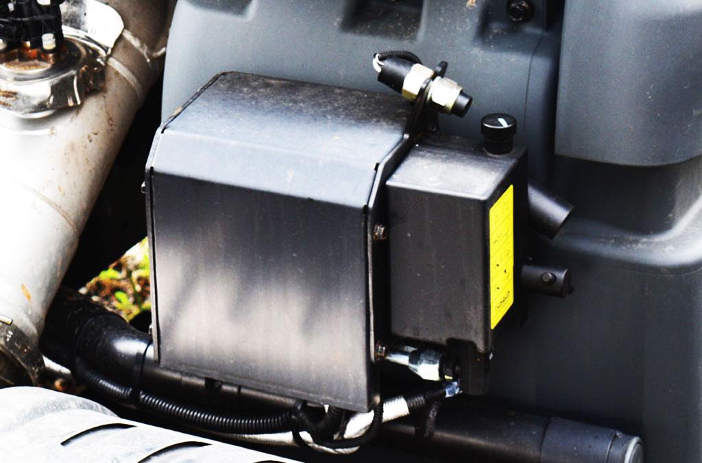 bộ điều khiển nâng hạ cabin xe ben daewoo cl4df