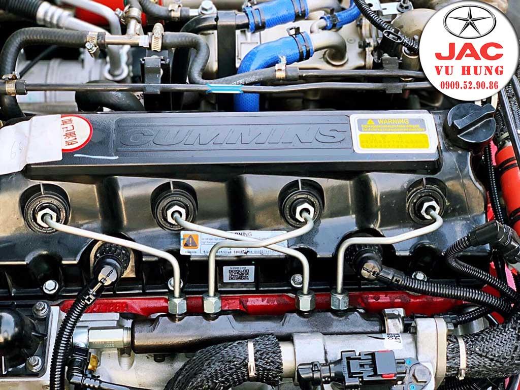 động cơ cummin trên xe JAC N650 Plus