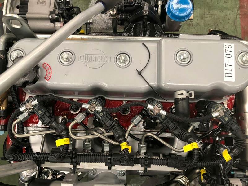 Động cơ xe tera 150