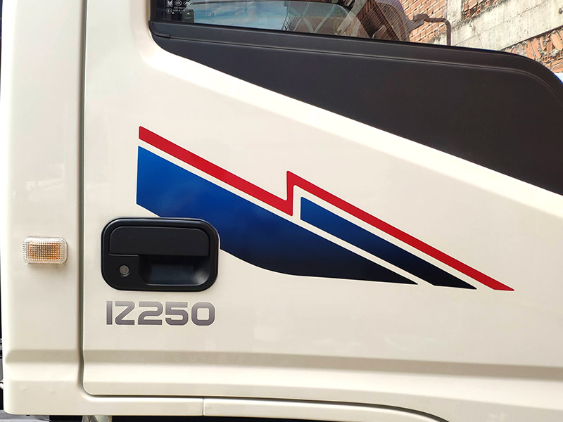 tem xe tải iz250