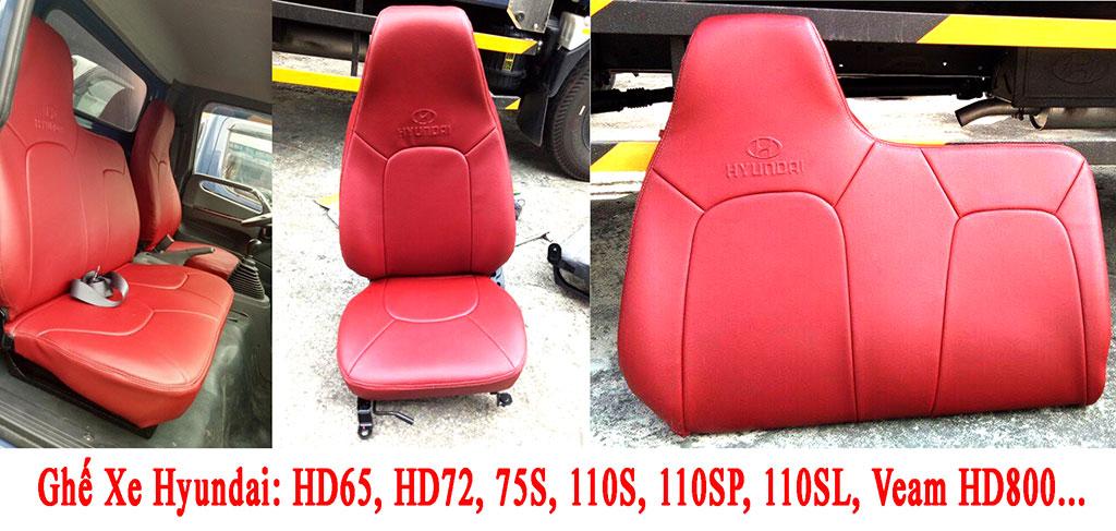mẫu ghế da xe tải hyundai
