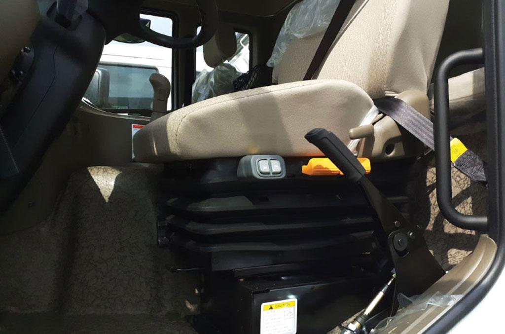 ghế tài xế xe ben daewoo