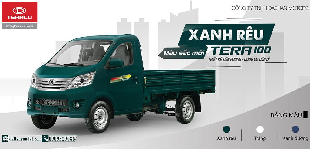 xe tải 1 tấn giá rẻ tera 100