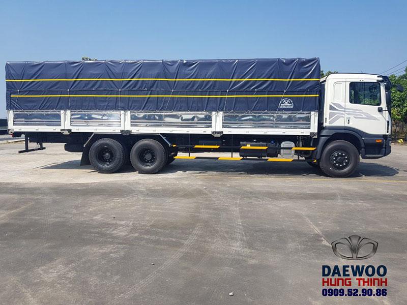 giá xe tải daewoo 15 tấn thùng 9m2