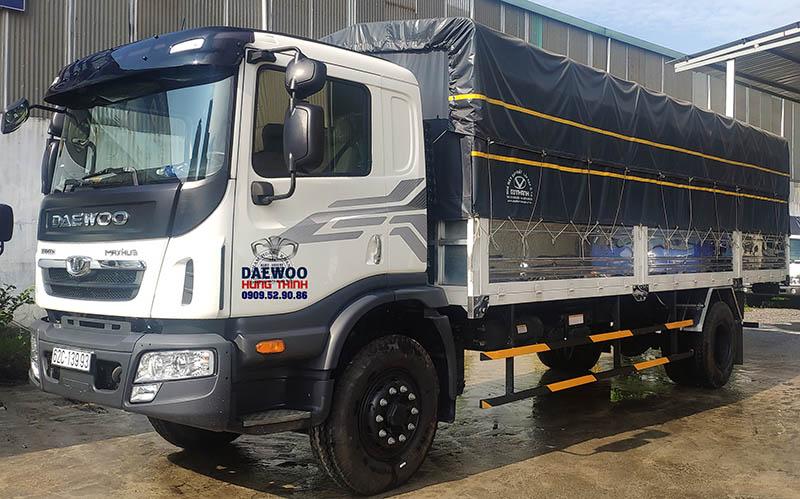 giá xe tải daewoo 9 tấn hc6aa thùng bạt đời 2019