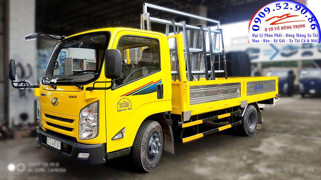 xe tải iz65 chở kiếng
