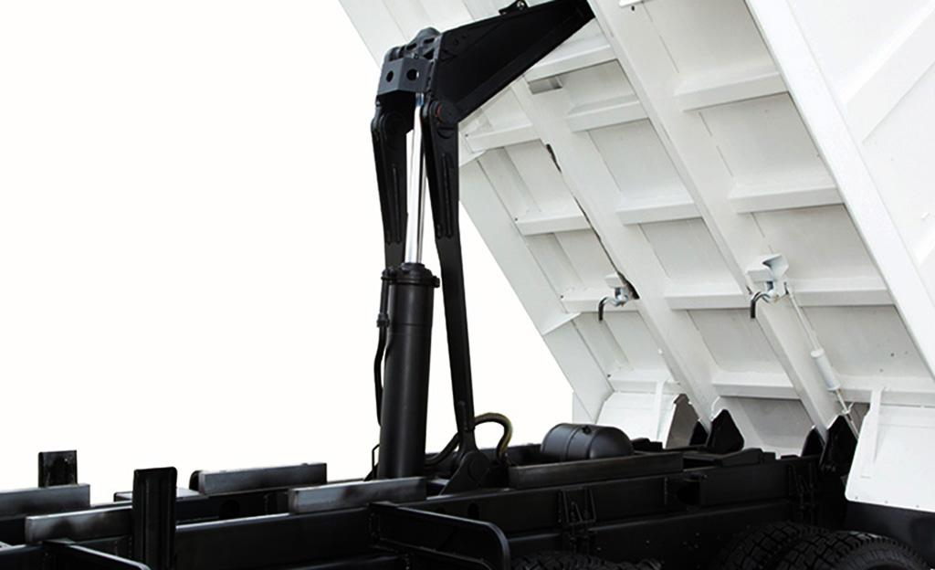 hệ thống nâng hạ thùng ben daewoo CL4DF