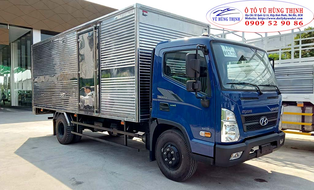 xe ex8 thùng kín 7 tấn