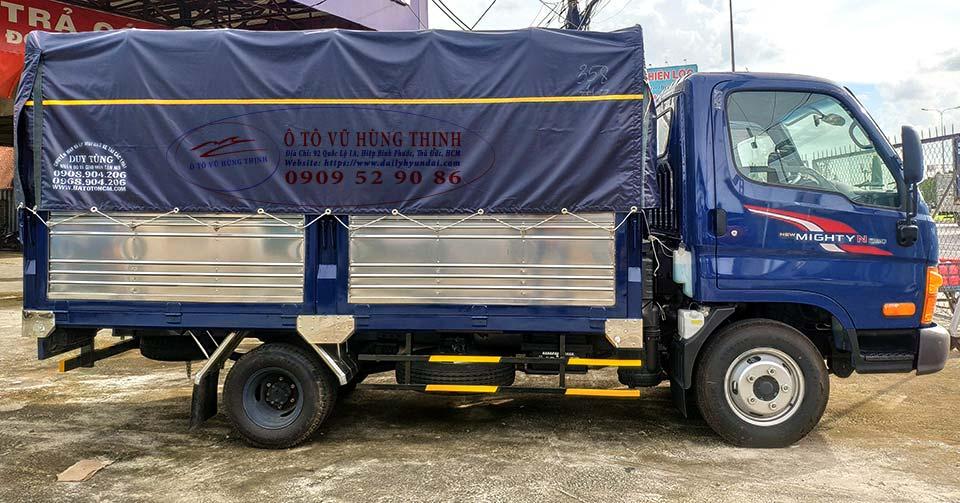 hyundai n250sl thùng bat 5 bửng