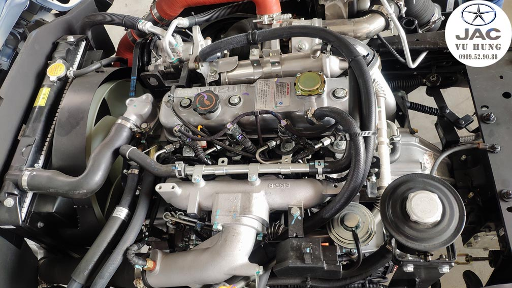 Động cơ isuzu xe jac L250 2t4