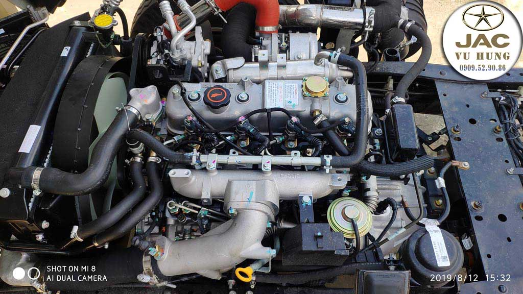 động cơ isuzu xe jac n200