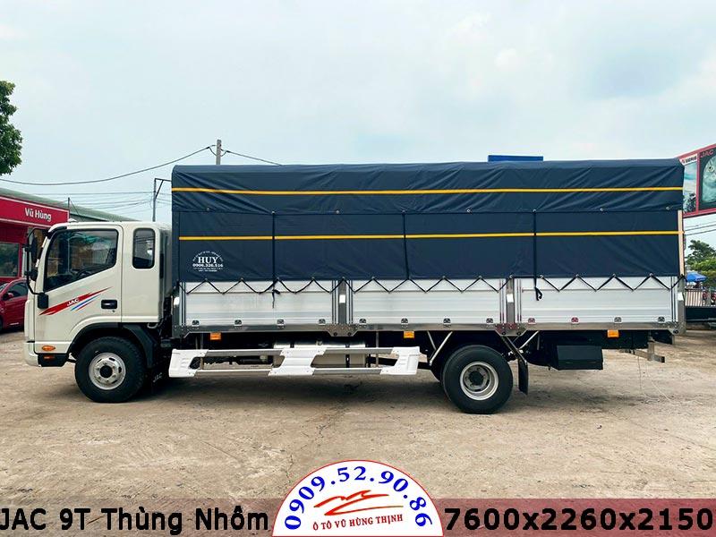 jac n900 thùng nhôm