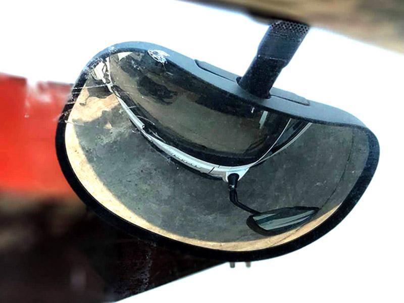 gương chiếu mũi xe iz500
