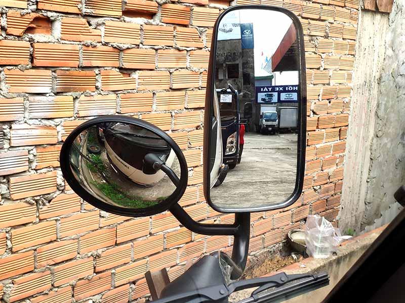 kính chiếu hậ xe tải iz250