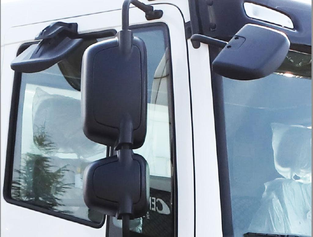 kính quan sát trên xe ben daewoo kl4df