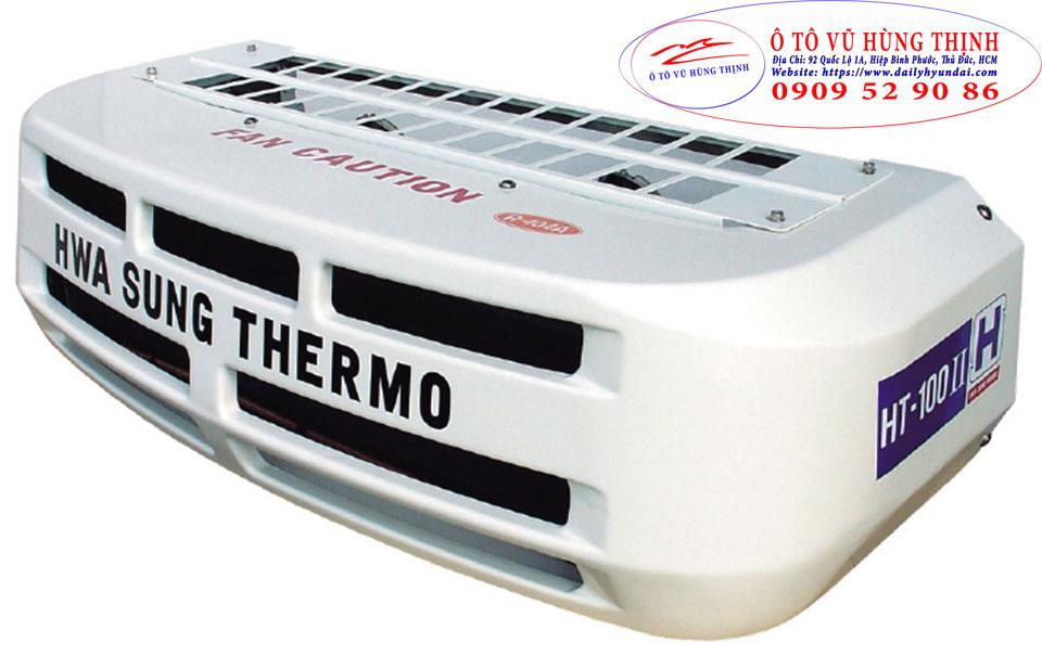máy lạnh xe tải hyundai n250sl thùng đông lạnh