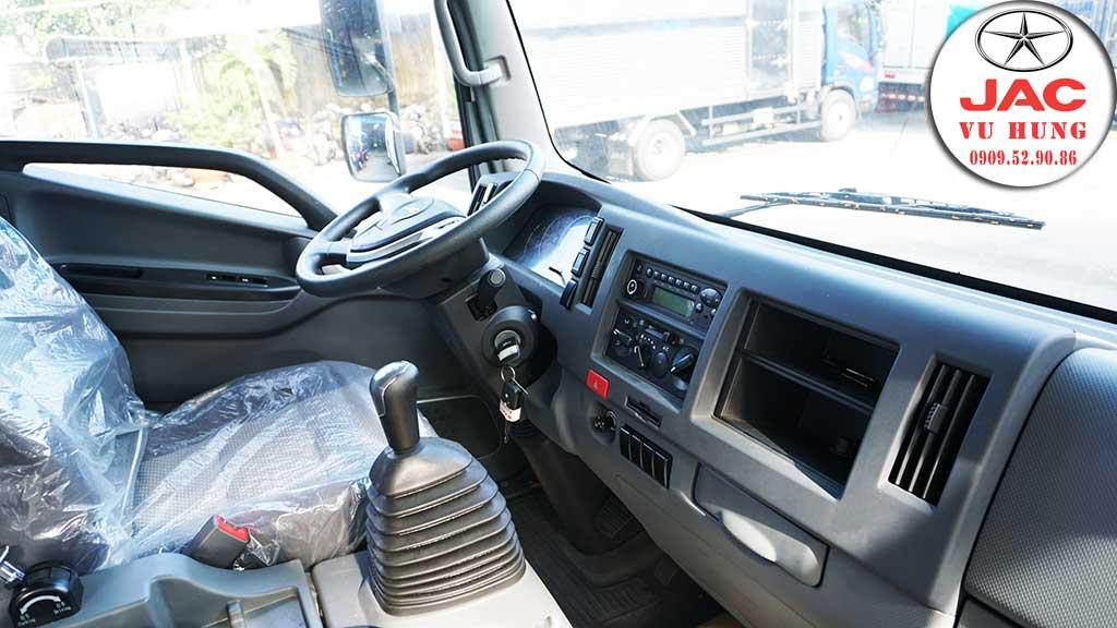 nội thất xe jac n650 plus