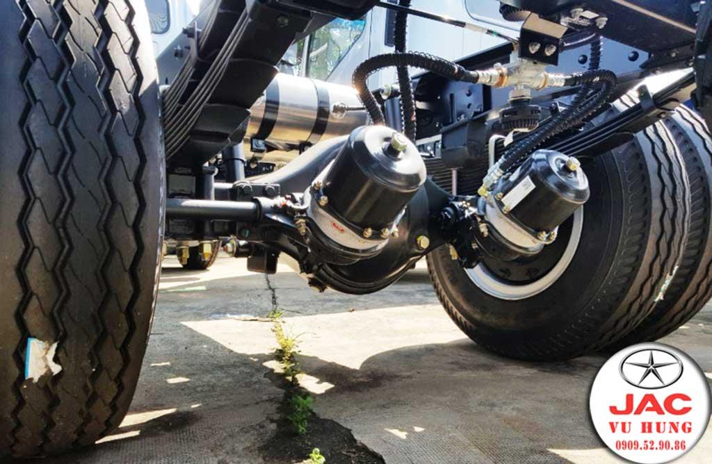 phanh khí nén xe tải jac 6t5 n650 plus 2020