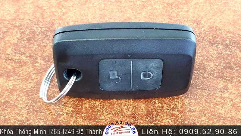 chìa khóa điều khiển từ xa xe tải đô thành iz49, iz65, iz650se