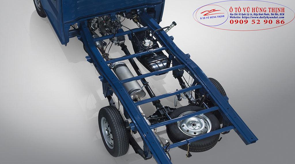chassis xe tải tera 100