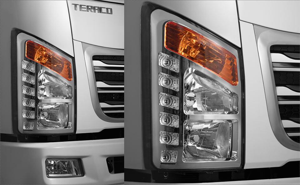 đèn chiếu sáng halogen xe tera 190sl