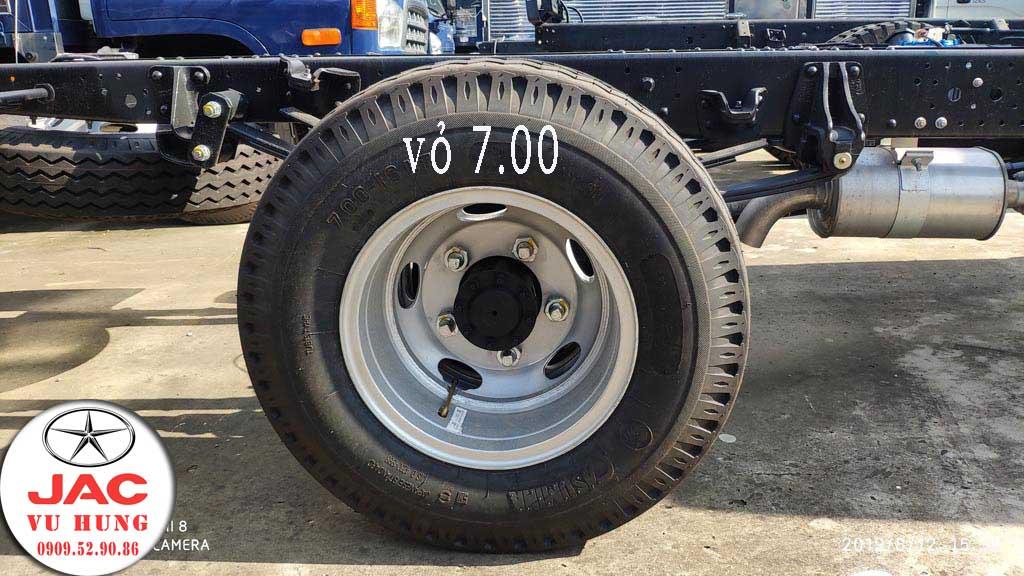 lốp xe kích thước 7.00 của jac n200