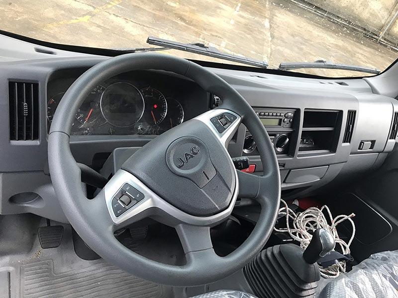 bảng đồng hồ và tay lái jac n350s