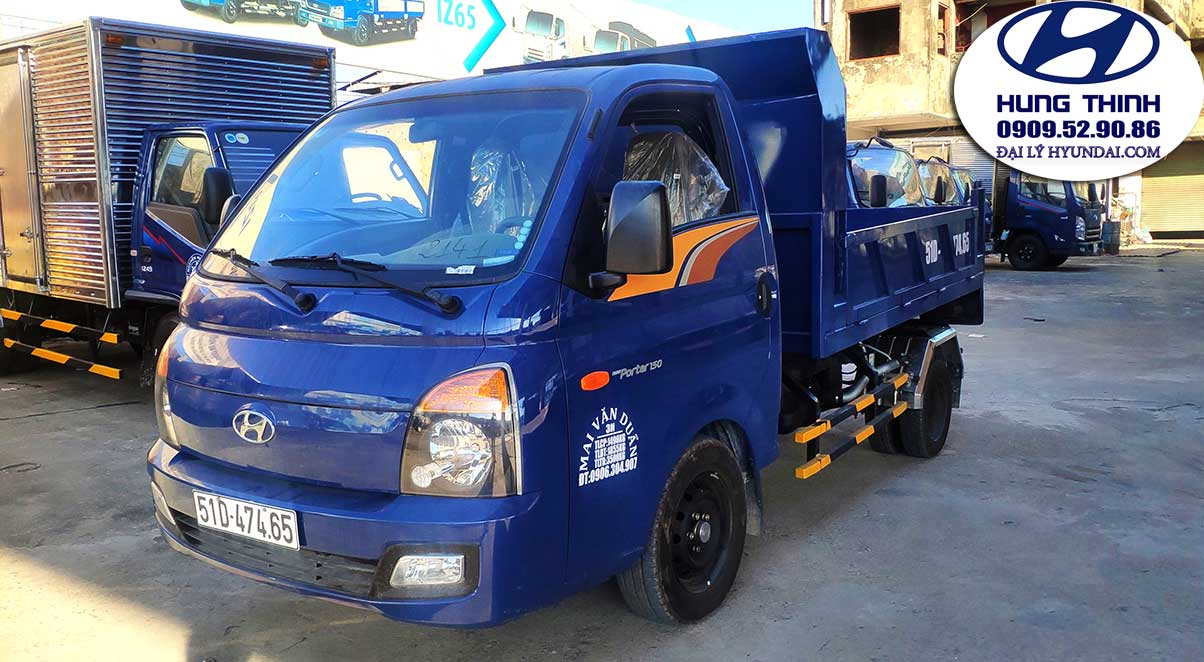 xe ben hyundai h150 1.5 tấn