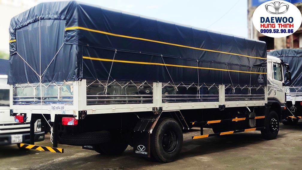 daewoo 9 tấn thùng bạt tiêu chuẩn