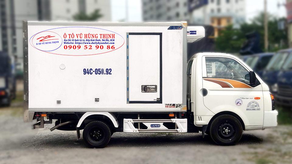 xe tải đông lạnh hyundai 1 tấn