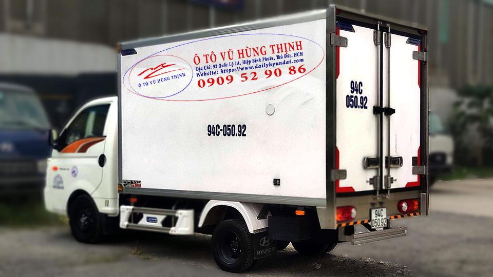 xe đông lạnh 1 tấn hyundai porter h150