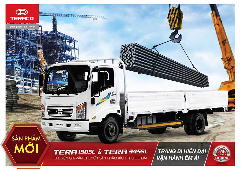 xe tải 1.9 tấn thùng dài 6m2