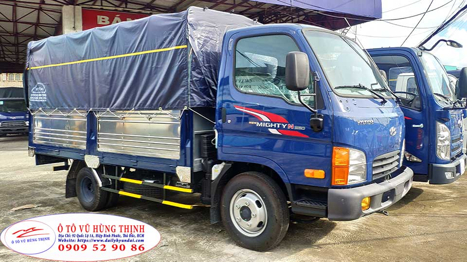 xe tải 2,5 tấn hyundai n250 sl