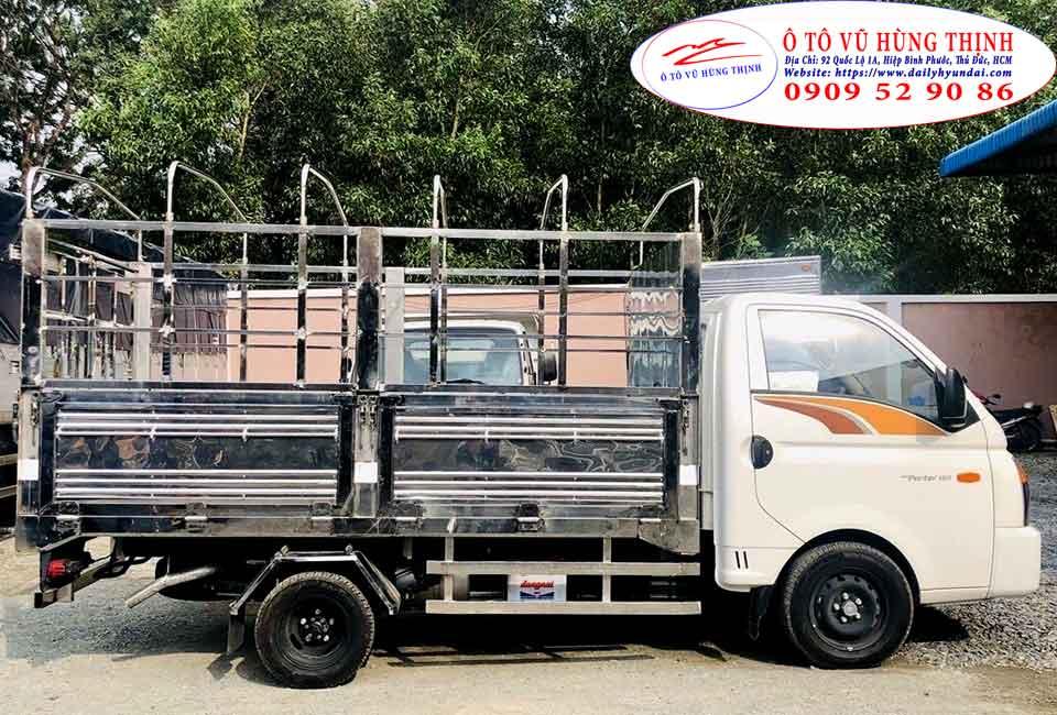 xe tải h150 thùng bạt 5 bửng