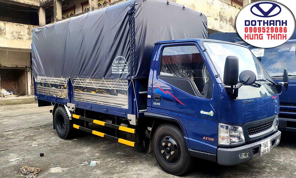 xe tải iz49 thùng mui bạt