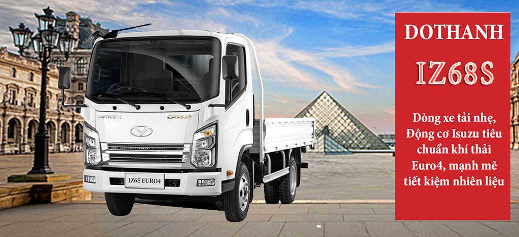 xe tải iz68s đô thành 3.5 tấn