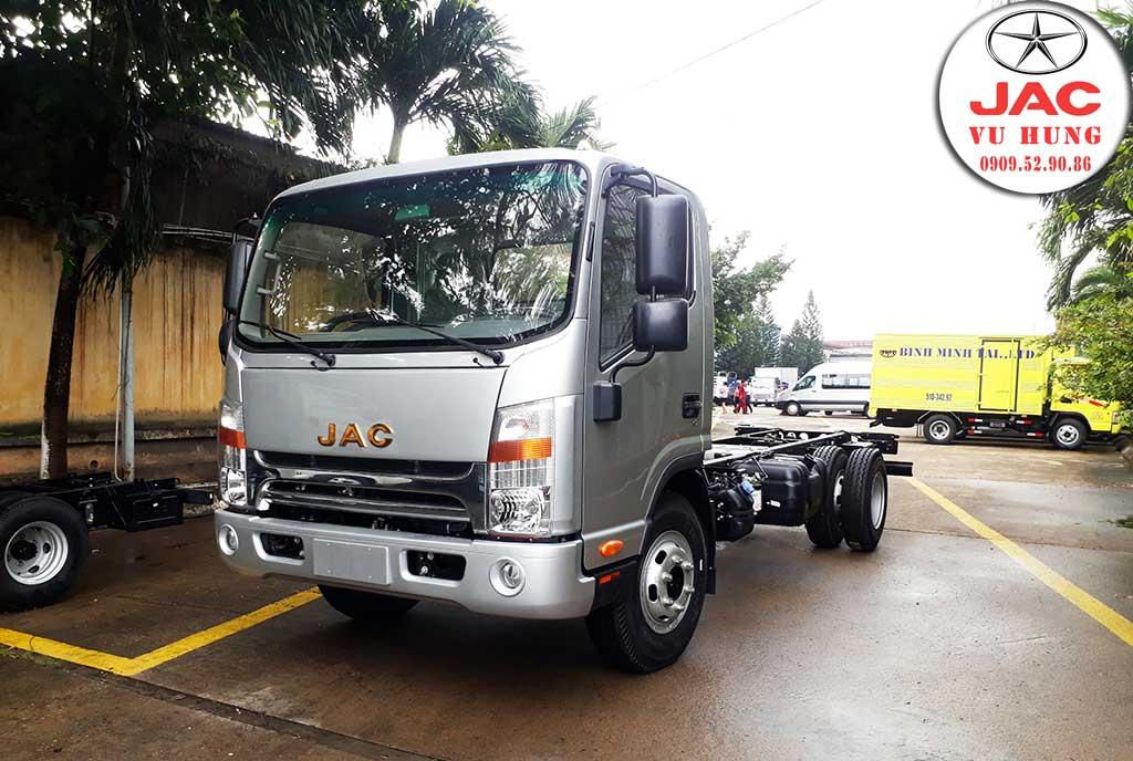 xe tải jac n650 plus thùng dài 6m2