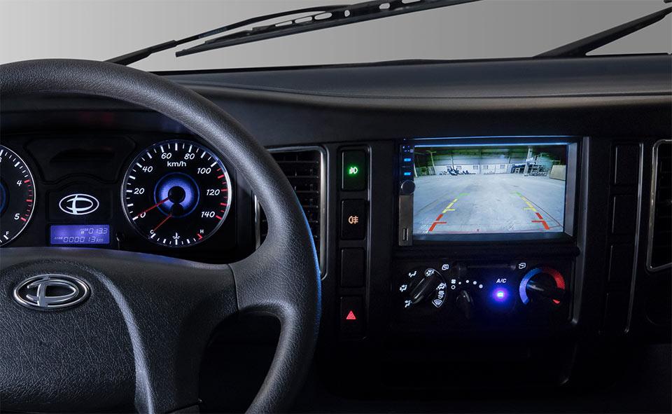 màn hình xe tải
