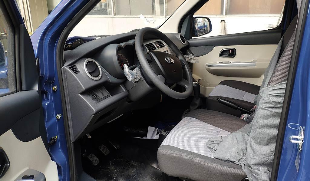 nội thất xe teraco 100
